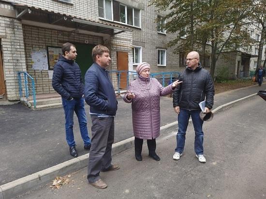 В Ярославле благоустраивают двор самого длинного в городе дома