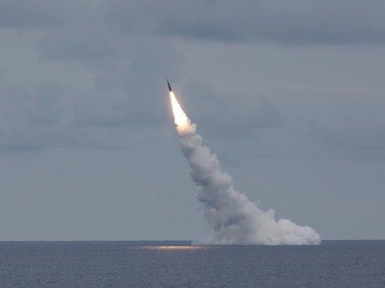 США испытали две баллистические ракеты Trident II над Атлантикой
