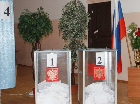 Явка избирателей составила почти 24,4% в Забайкалье утром 19 сентября