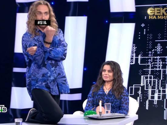 Сергей Глушко, известный как стриптизер Тарзан, устроил истерику, узнав, что у его супруги певицы Наташи Королевой есть дочь, отцом которой является мужчина-гей - давний знакомый артистки