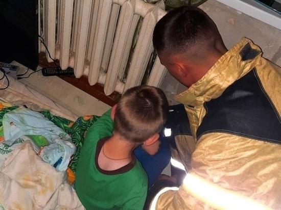 В Курской области огнеборцы спасли маленького жителя Щигров