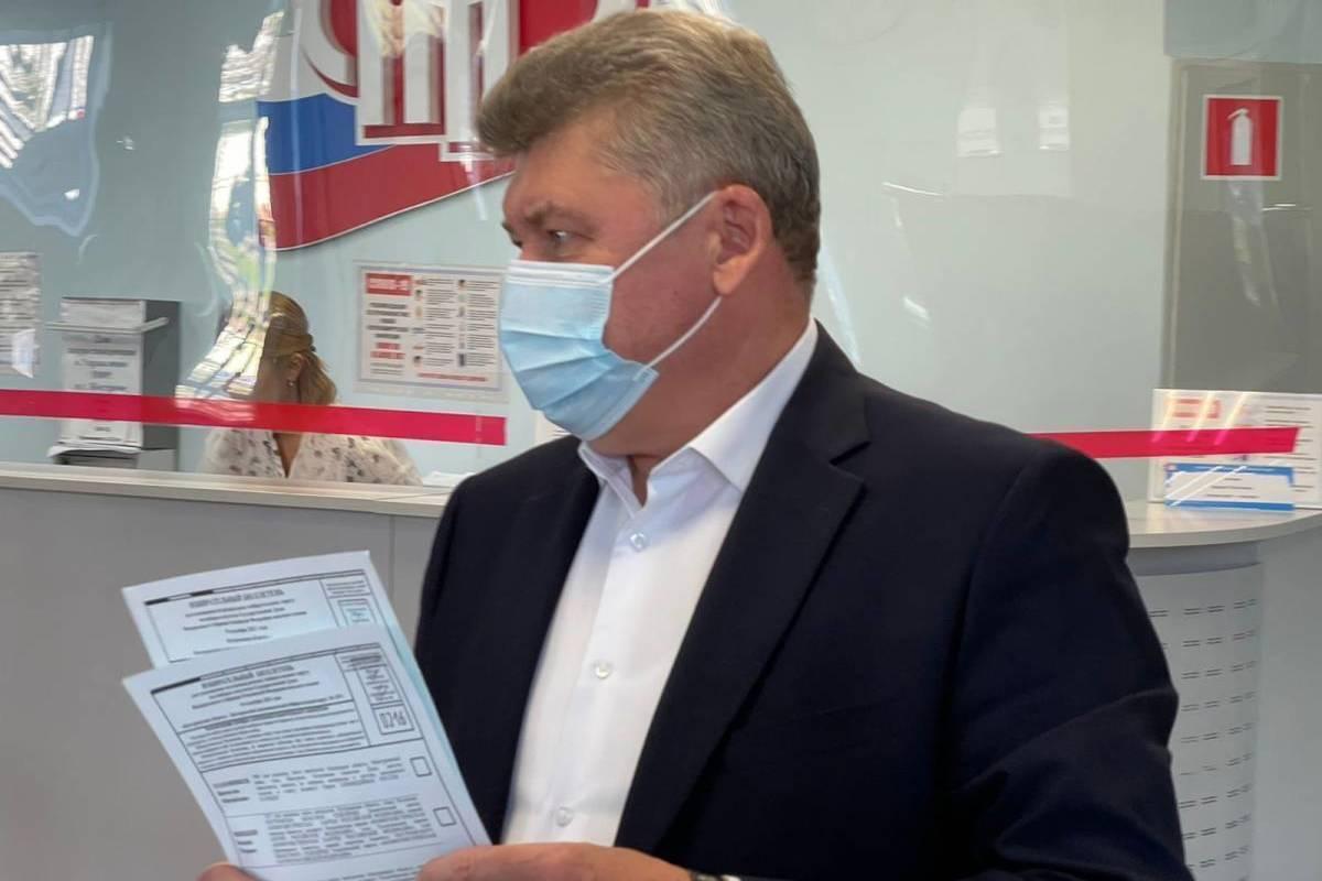Алексей Анохин: «Я голосую за депутата, который будет развивать Костромскую область»