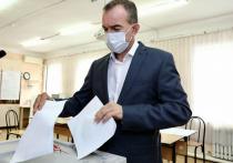 Губернатор Краснодарского края Вениамин Кондратьев принял участие в выборах