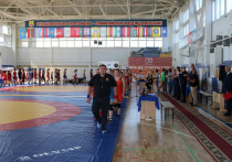 В Гулькевичах прошла церемония открытия Всероссийских соревнований по вольной борьбе