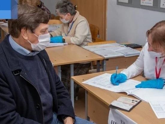 Глава Великих Лук Николай Козловский принял участие в голосовании