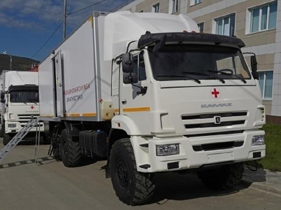 Три передвижных медкабинета отправятся в отдалённые посёлки Колымы