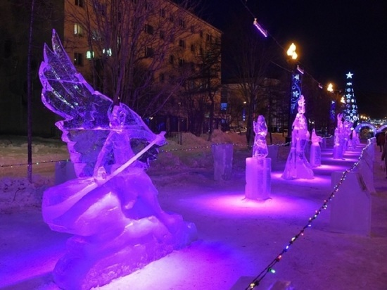 Колыма начинает приём заявок на международный конкурс ледяных скульптур