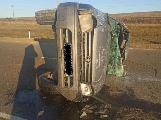 Четверо погибли в перевернувшемся внедорожнике в Забайкалье