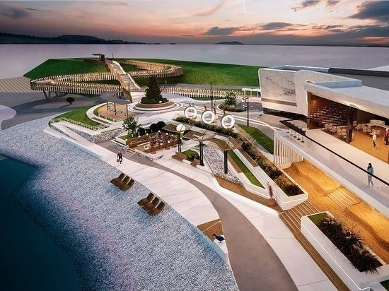 Сергей Носов назвал будущий фасад бухты Нагаева в Магадане лучшим на Дальнем Востоке