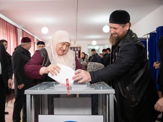 Явка на выборах в Чечне превысила 93%