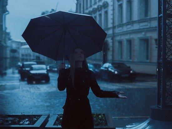 Москвичей предупредили о затяжных дождях