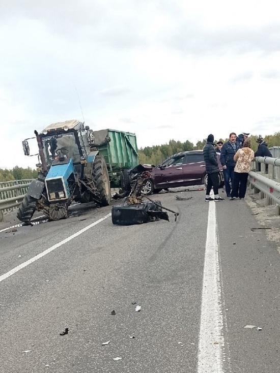 В Ярославской области авария на мосту заблокировала движение по трассе