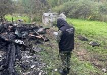 Два человека погибли в пожаре в Тверской области