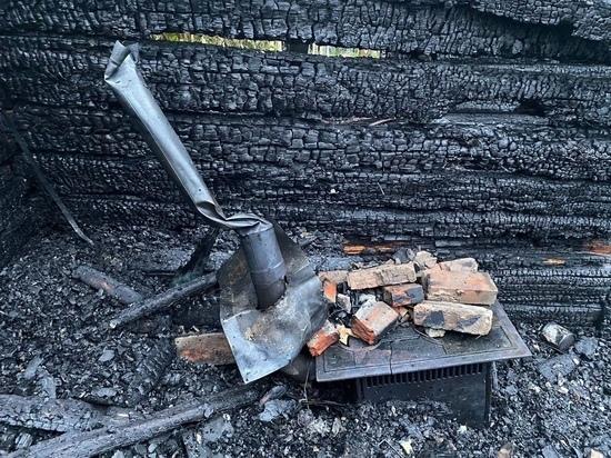 В Десногорске при пожаре в дачном доме погиб 50-летний мужчина