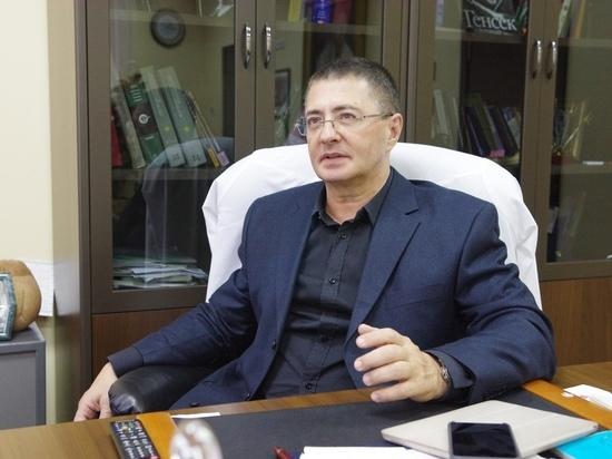 Главный врач московской больницы №71 имени...