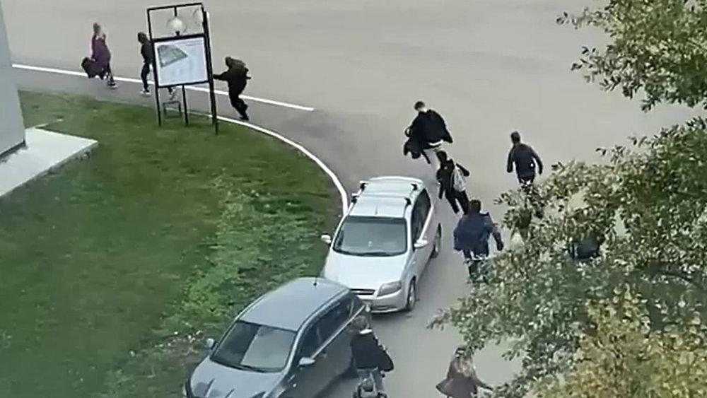 Расстрел в вузе Перми унес жизни шести человек: фотохроника