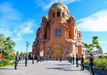 Больше, чем церковь  Глава Русской православной церкви прибыл в столицу региона за день до церемонии освящения собора