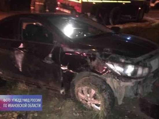 В Вичуге пьяный водитель отправил в больницу жену и малолетнюю дочь