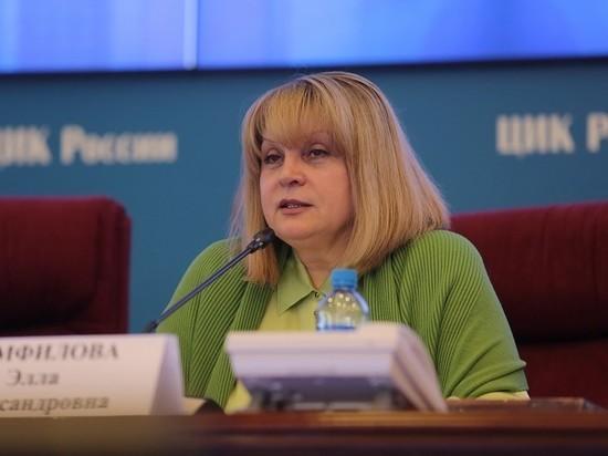 Глава ЦИК Элла Памфилова заявила, что пока не встретилась с президентом Владимиром Путиным