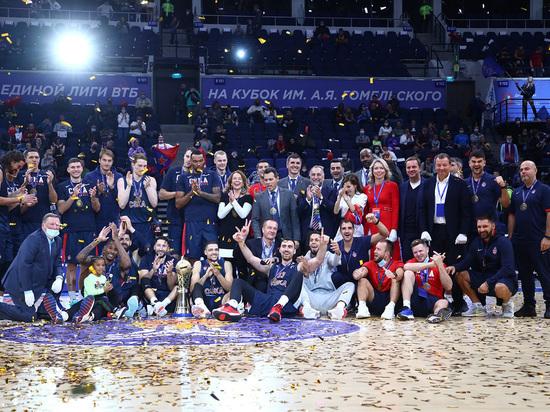 Баскетбольный сезон стартовал с очередной победы ЦСКА