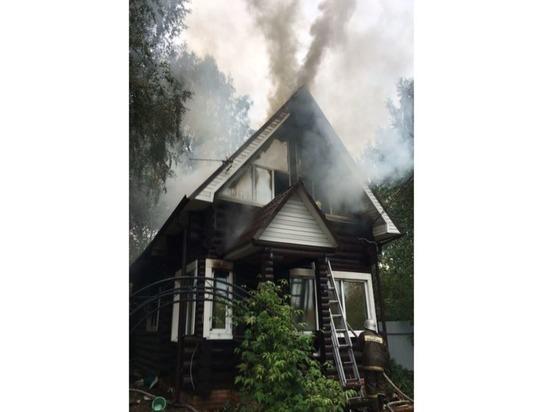 Из-за включенного обогревателя в Марий Эл едва не сгорел дом