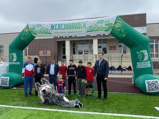 В Железноводске завершилась лига дворового футбола
