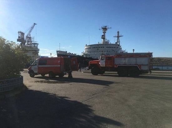 Мурманская транспортная прокуратура проводит проверку после возгорания на ледоколе «Ленин»