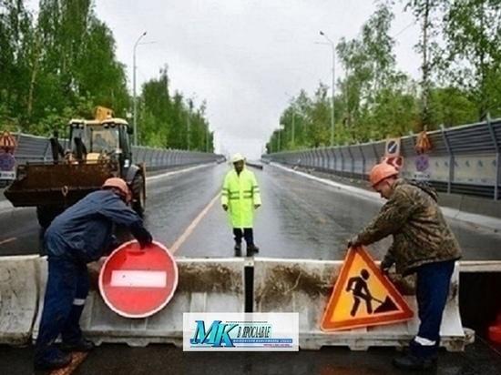 Добрынинский путепровод Ярославля опять закрыли, не успев открыть