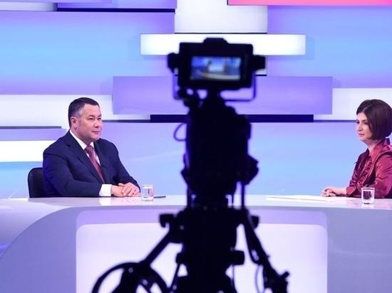 Игорь Руденя рассказал об атмосфере на участке, где голосовал