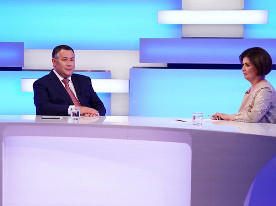 Губернатор Игорь Руденя поблагодарил жителей Тверской области за доверие и активное участие в голосовани
