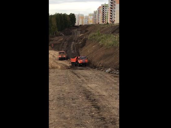 Власти Новокузнецка сообщили о строительстве новой дороги