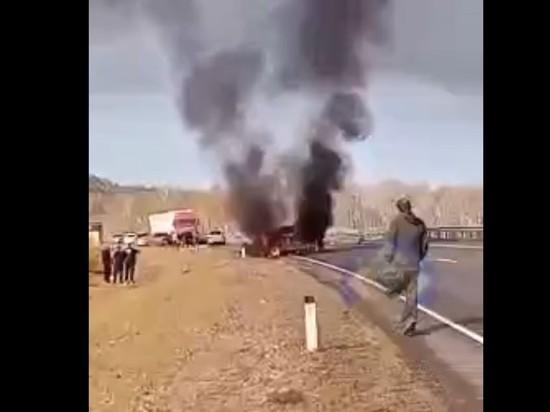 Водители Honda и Suzuki погибли в жесткой аварии на трассе в Забайкалье