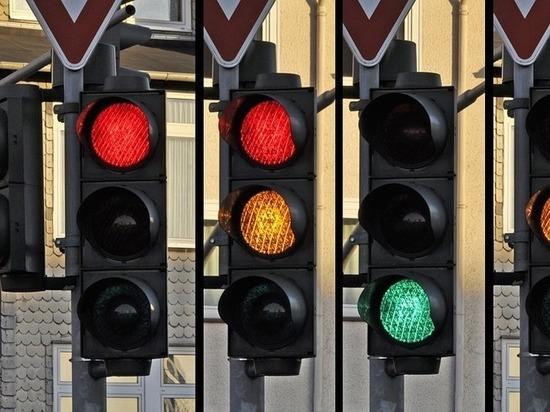 В Калуге на участке Силикатный-Анненки сменили режим работы светофора