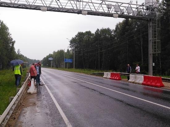 Два первых пункта весового контроля в Калужской области отключены