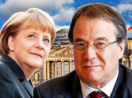 Германия: Меркель агитирует за отстающего кандидата от ХДС