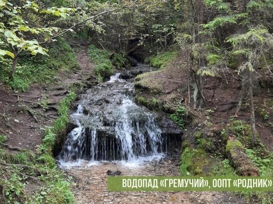 Власти рассказали о состоянии водопада в Жуковском районе