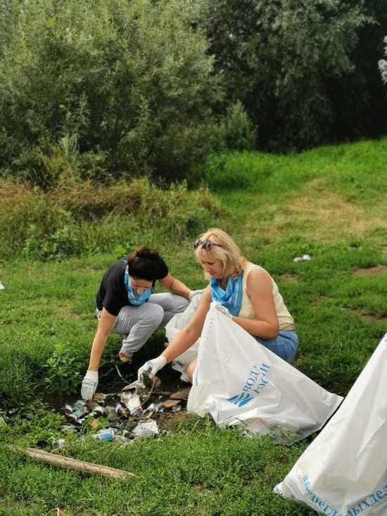 Из-за непогоды уборку реки в Боровске перенесли на неделю