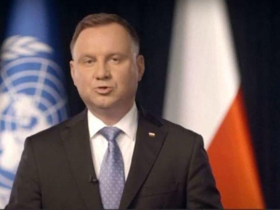 Президент Польши заявил об отсутствии достаточной солидарности во время пандемии
