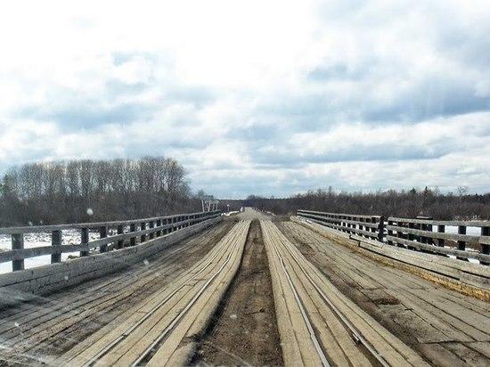Неудовлетворительное состояние моста подтвердили рейдовые мероприятия