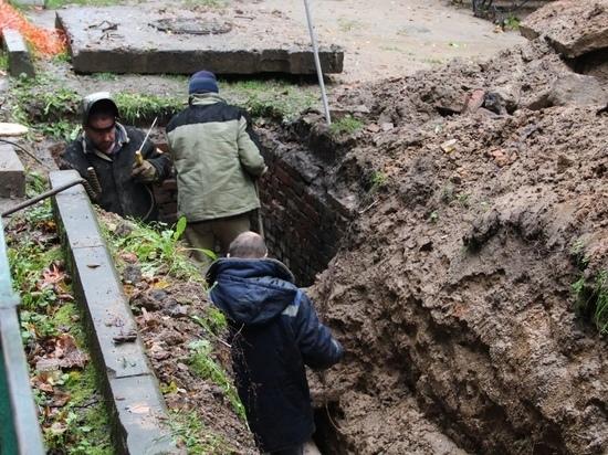 Шесть домов в Калуге остались без тепла из-за коммунальной аварии