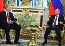 Владимир Путин и Реджеп Тайип Эрдоган проведут переговоры в Сочи