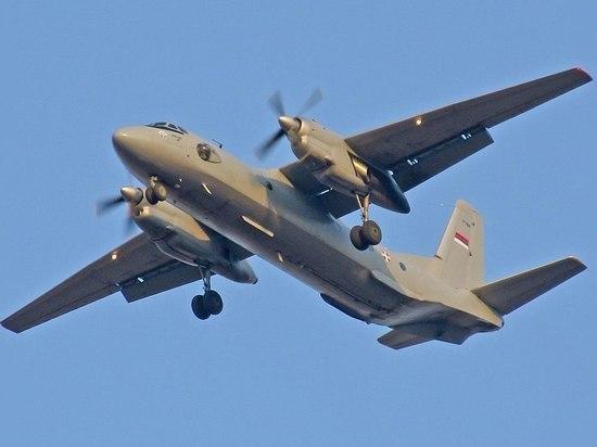 В районе Хабаровска пропал военно-транспортный самолет Ан-26 с шестью людьми на борту