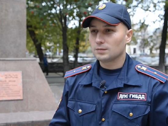 Президент России Владимир Путин наградил полицейского Константина Калинина орденом Мужества