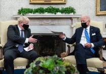 На встрече в Вашингтоне Джо Байден и Борис Джонсон договорились сдерживать Россию и Китай «на основании общих ценностей»