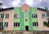 В Сочи завершили бетонные работы на пяти блоках строящейся школы на Мамайке