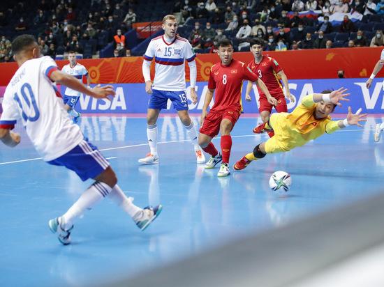 Сборная России обыграла команду Вьетнама в 1/8 финала ЧМ по мини-футболу