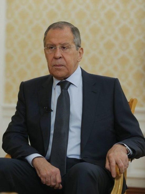 Лавров заявил, что Россия не будет вступать в НАТО