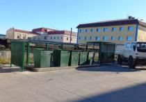 В Анадыре приступили к ремонту ограждений мусорных площадок