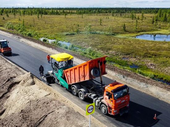 Сезон дорожных работ завершается на Ямале