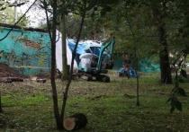 По следу мэра: на переулке Дьяченко в Хабаровске замечена техника и стройматериалы